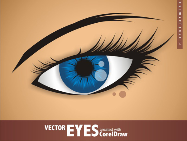 tips and trick how to make vector eyes with coreldraw x7 graphic designs interior. Black Bedroom Furniture Sets. Home Design Ideas